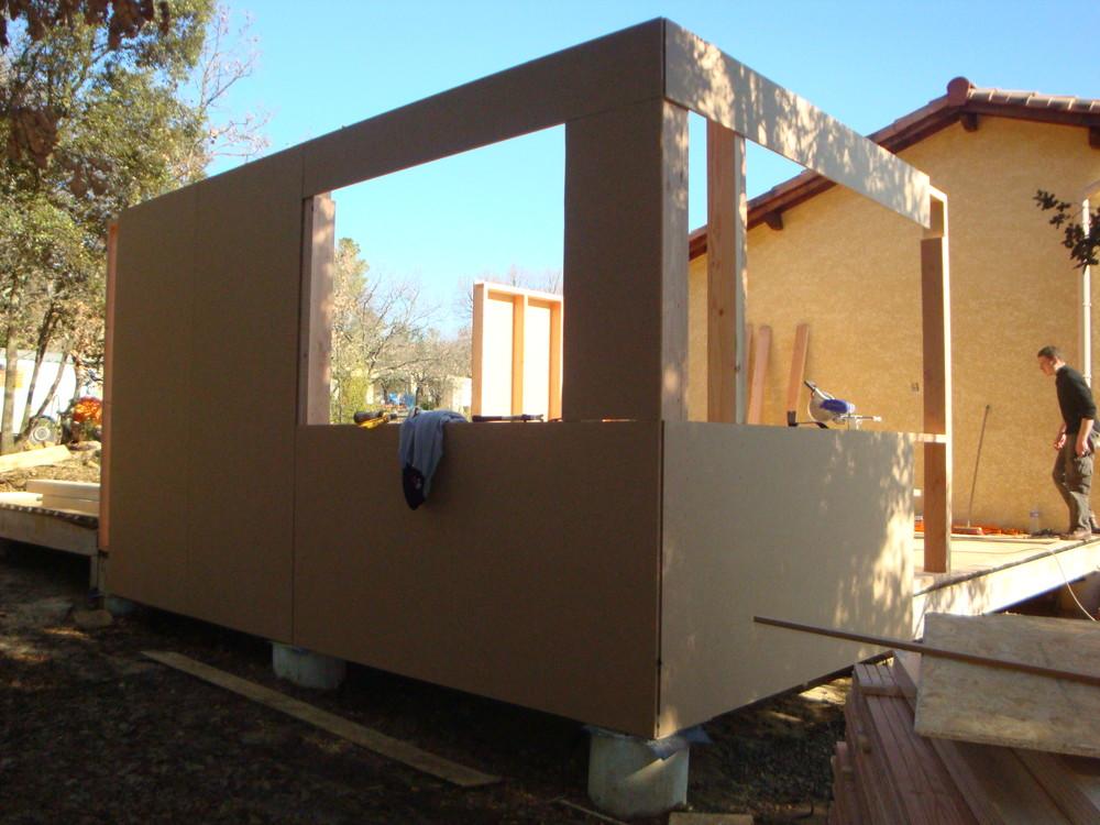 Maison Ossature Bois Agrandissement Extension Auto-Construction Kit